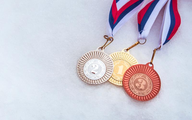 オリンピックの金メダル!実は純金ではなかった?