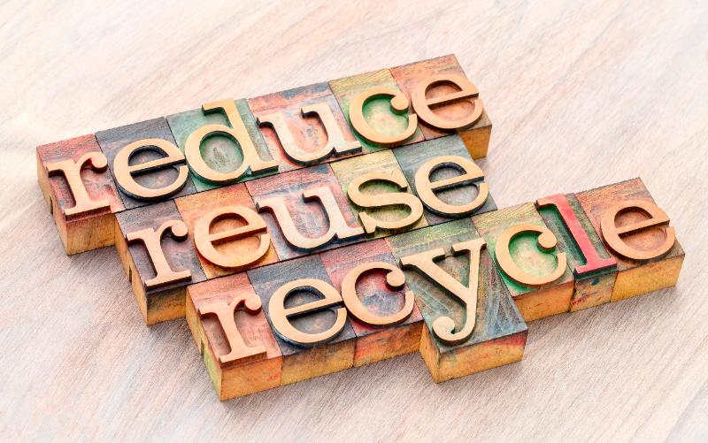 「3R」リデュース、リユース、リサイクルの違いとは?