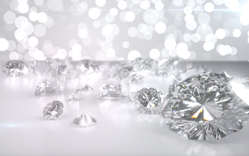 ダイヤモンドはどこで産出されどのようにして市場に出回るのか