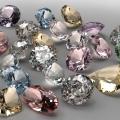 さまざまな色をもつダイヤモンド