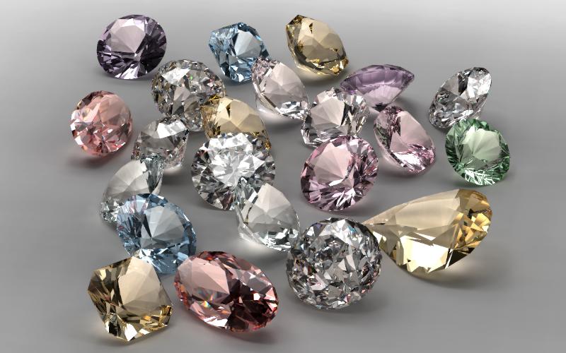 ダイヤモンドの色もさまざま!カラーダイヤモンドの特徴や種類